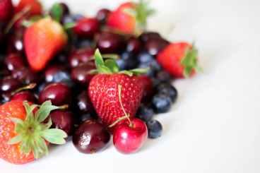 cherry and berries